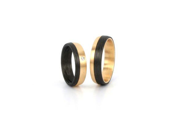 Carbon Rosegold 585