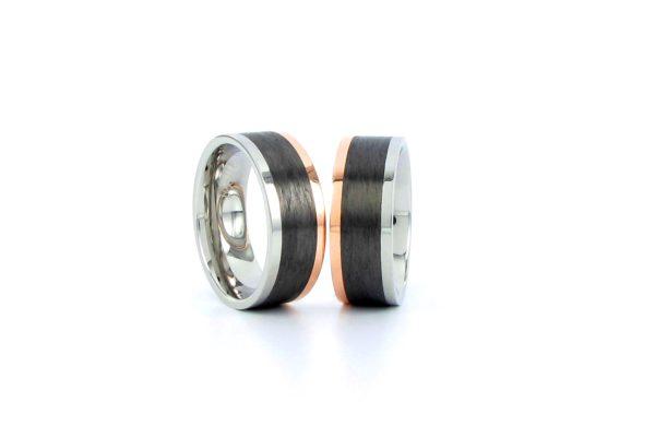 Stahl-Gold -Carbon