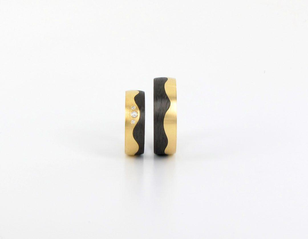 Gelbgold 585 Carbon