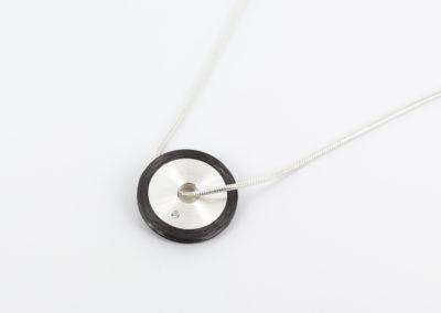 925 Silber mit Carbon